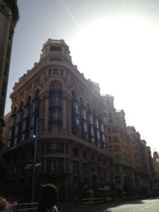 One of many of Madrid's beautiful buildings