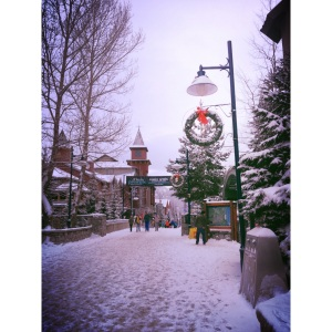 Christmas time in Whistler, Canada