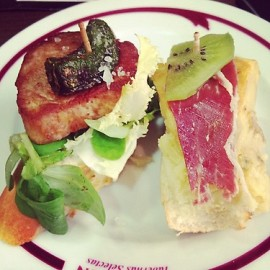 Just can never get enough of Spain's amazing tapas!