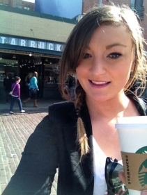 Coffee at the first ever Starbucks (the right one this time)