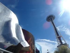 The EMP Museum and the Space Needle