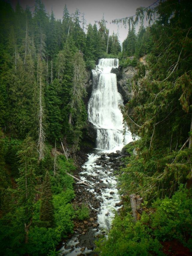 Alexander Falls, Callaghan Valley, BC