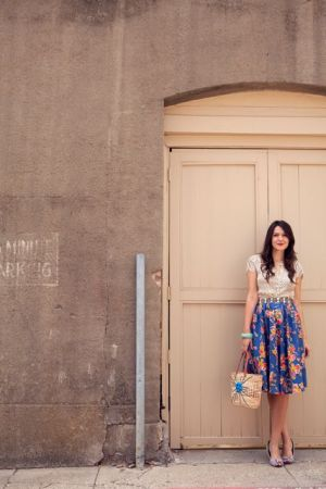 Midi Skirt, travel fashion