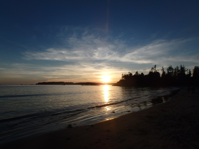 Beautiful Sunset over Mackenzie Beach