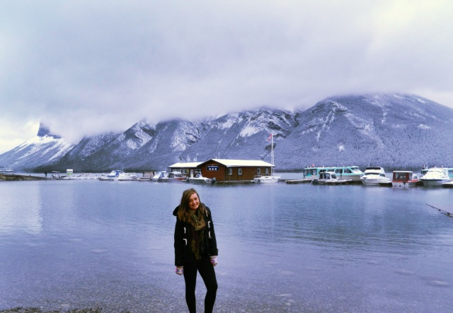 Lake Minnewanka! Would love to go back and do a cruise on it!