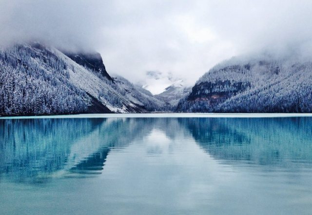 Lake Louise in the Snow